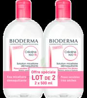 Crealine Ts H2o Solution Micellaire Sans Parfum Nettoyante Apaisante 2fl/500ml à BORDEAUX