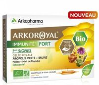 Arkoroyal Immunité Fort Solution Buvable 20 Ampoules/10ml à BORDEAUX