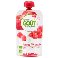 Good Goût Alimentation Infantile Pomme Framboise Gourde/120g à BORDEAUX
