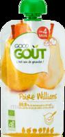 Good Goût Alimentation Infantile Poire Williams Gourde/120g à BORDEAUX