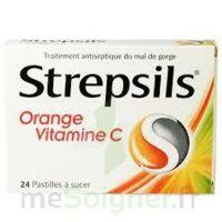 Strepsils Orange Vitamine C, Pastille à BORDEAUX