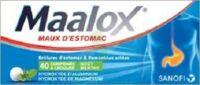 Maalox Hydroxyde D'aluminium/hydroxyde De Magnesium 400 Mg/400 Mg Cpr à Croquer Maux D'estomac Plq/40 à BORDEAUX