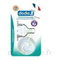 Dodie Sensation+ Tétine Plate Débit 2 Silicone 0-6mois à BORDEAUX