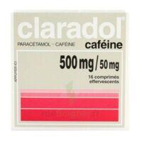Claradol Cafeine 500 Mg/50 Mg, Comprimé Effervescent à BORDEAUX