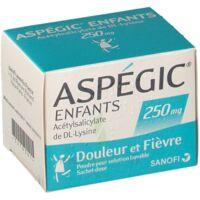Aspegic Enfants 250, Poudre Pour Solution Buvable En Sachet-dose à BORDEAUX