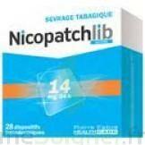 Nicopatchlib 14 Mg/24 H Dispositifs Transdermiques B/28 à BORDEAUX