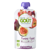 Good Goût Alimentation Infantile Pomme Figue Gourde/120g à BORDEAUX