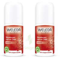 Weleda Duo Déodorant Roll-on 24h Grenade 100ml à BORDEAUX